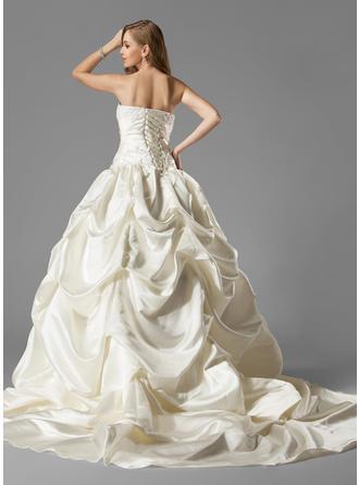 chest plate wedding dresses
