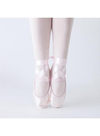 Kids' Pointe Shoes Satin Dance Shoes (053183146)