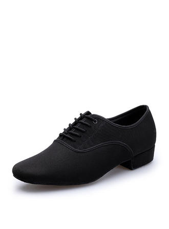 Men's Latin Practice Canvas Dance Shoes