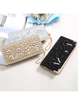 Clutches Wedding PU Shining Clutches & Evening Bags
