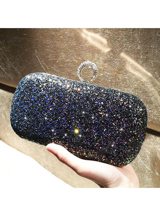Brillante Paillette Pochette/Satchel (012118281)