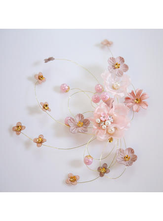 "Hairpins Wedding/Special Occasion Alloy/Imitation Pearls/Chiffon 7.09""(Approx.18cm) 1.18""(Approx.3cm) Headpieces"