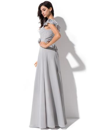 long bridesmaid dresses chiffon