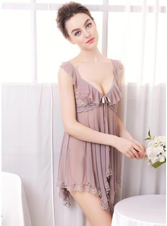 Pijama conjunto Lässige Kleidung Weiblich Chinlon Ins Auge Fallend Lingerie
