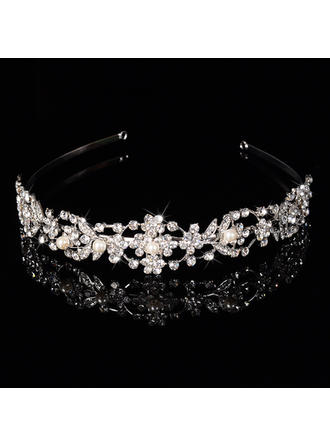 "Tiaras Wedding/Special Occasion/Party Rhinestone/Alloy 1.18""(Approx.3cm) 6.3""(Approx.16cm) Headpieces"