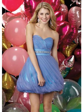 Short/Mini Homecoming Dresses With Pleated