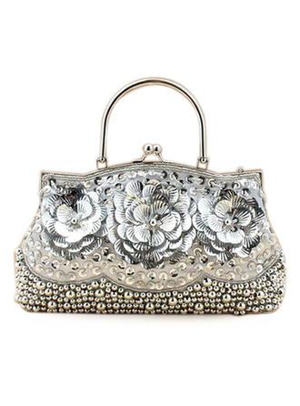Wristlet Taschen/Mode-Hand Hochzeit/Zeremonie & Party Pailletten Busseln Arretieren Verschluss Prächtig Clutches & Abendtaschen