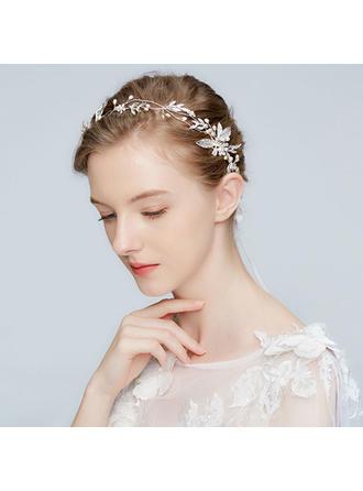 Einzigartig Legierung Stirnbänder mit Venezianischen Perle (In Einem Stück Verkauft)