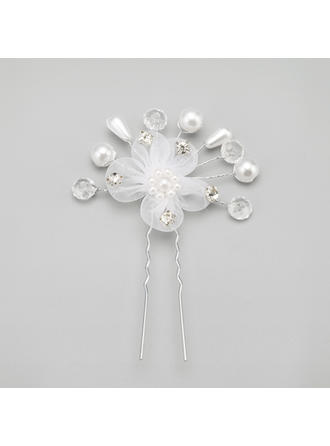"Hairpins Wedding/Special Occasion/Party Alloy/Imitation Pearls 2.17""(Approx.5.5cm) 2.17""(Approx.5.5cm) Headpieces"