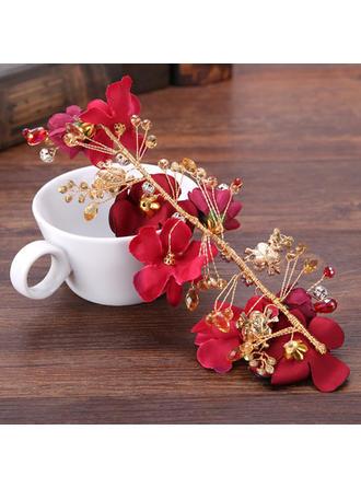 Legierung/Seide Blumen Stirnbänder (In Einem Stück Verkauft)