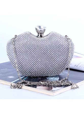 Clutches/Satchel Wedding/Ceremony & Party Crystal/ Rhinestone Elegant Clutches & Evening Bags (012187248)