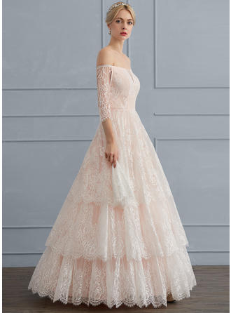 Ball-Gown - Lace Wedding Dresses