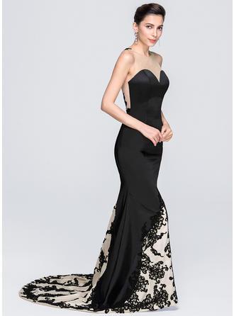 evening dresses for apple shaped figure