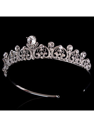 Tiaras Wedding/Special Occasion Rhinestone/Alloy Classic Color & Style representation may vary by monitor Headpieces