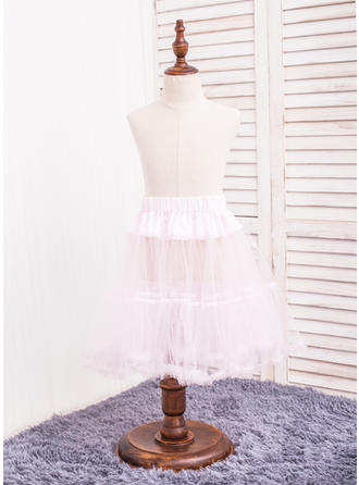 Petticoats Tulle Netting A-Line Slip 2 Tiers Daily Wear Petticoats