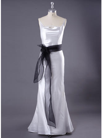 Women Organza With Feather Sash Simple Sashes & Belts