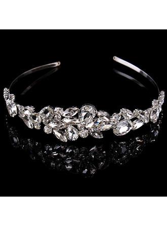 "Tiaras Wedding/Special Occasion Rhinestone/Alloy 1.97""(Approx.5cm) 6.3""(Approx.16cm) Headpieces"