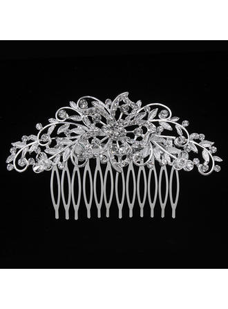 "Combs & Barrettes Wedding/Special Occasion/Party Alloy 3.94""(Approx.10cm) 2.36""(Approx.6cm) Headpieces"