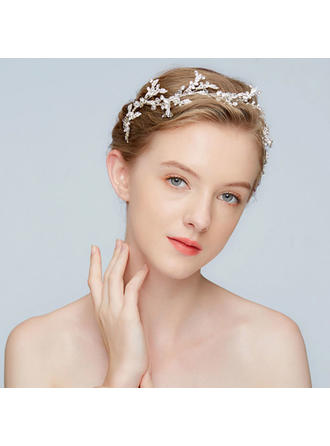 Gorgeous Alloy Headbands With Crystal (Sold in single piece)