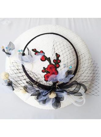 Net Yarn Fascinators Ladies' Hats