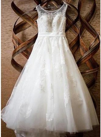 cheap a line lace wedding dresses