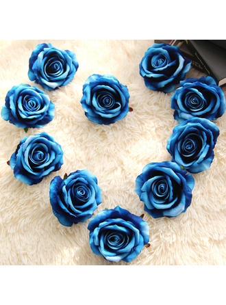 """Decorations/Flower Gifts Round Wedding/Party/Casual Satin 1.97""""(Approx.5cm) Wedding Flowers"""