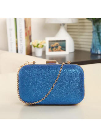 Clutches Wedding/Ceremony & Party PU Clip Closure Unique Clutches & Evening Bags