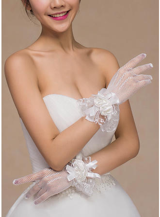 Lace Ladies' Gloves Bridal Gloves Fingertips 24cm(Approx.9.45inch) Gloves