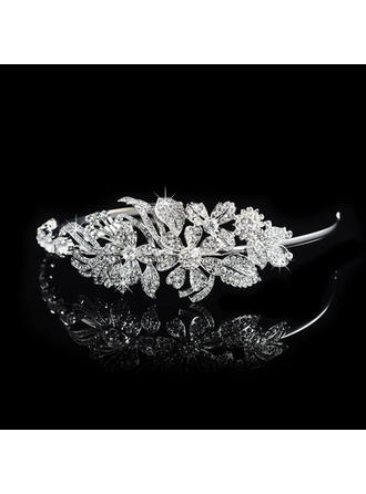"Tiaras Wedding/Special Occasion/Party Rhinestone/Alloy 1.97""(Approx.5cm) 5.51""(Approx.14cm) Headpieces"