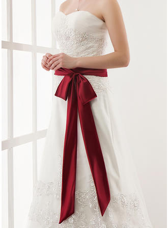 Women Satin Sash Elegant Sashes & Belts