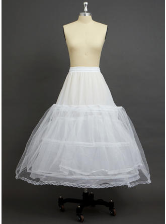 Petticoats Ankle-length Tulle Netting/Polyester Ball Gown Slip 2 Tiers Petticoats