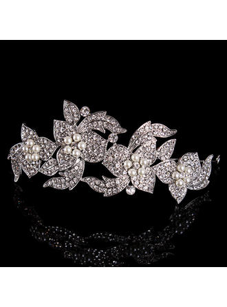 Tiaras Wedding/Special Occasion Rhinestone/Alloy/Imitation Pearls Beautiful Color & Style representation may vary by monitor Headpieces