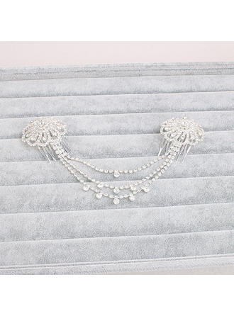 Combs & Barrettes Wedding Alloy Beautiful Ladies Headpieces