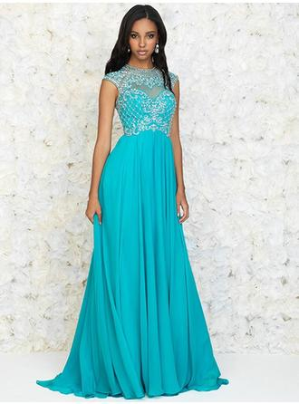 High Neck Prom Dresses