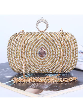 Clutches/Satchel Wedding/Ceremony & Party Crystal/ Rhinestone Unique Clutches & Evening Bags