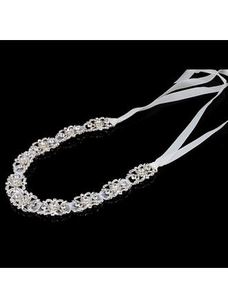 "Headbands Special Occasion Rhinestone/Alloy/Satin 11.8""(Approx.30cm) 1.57""(Approx.4cm) Headpieces"