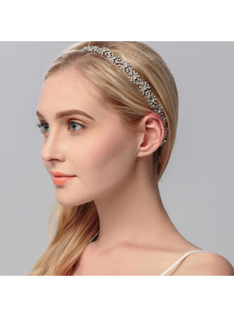 "Headbands Wedding/Special Occasion Rhinestone/Alloy 0.98""(Approx.2.5cm) 9.84""(Approx.25cm) Headpieces"