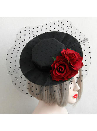 Cotton/Lace Fascinators Vintage Ladies' Hats