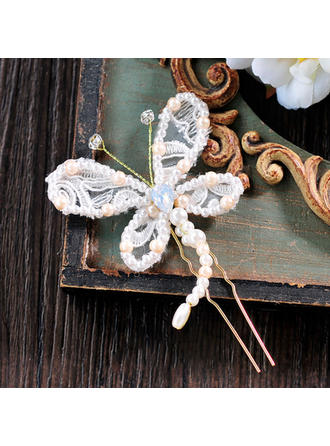 Ladies Beautiful Lace Hairpins (Sold in single piece)