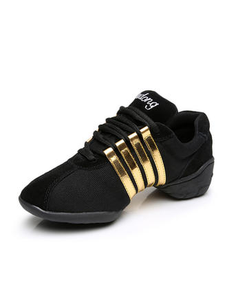 Women's Sneakers Sneakers Suede Dance Shoes