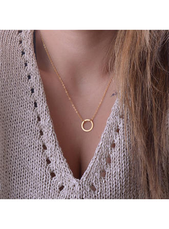 Necklaces Alloy Ladies' Charming Pendant Necklaces Wedding & Party Jewelry