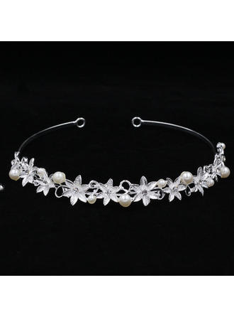 Ladies Beautiful Rhinestone/Alloy Tiaras With Rhinestone (042119238)