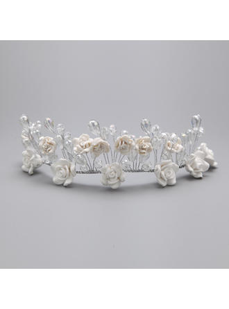 "Headbands Wedding/Special Occasion/Party Alloy/Polymer Clay 5.91""(Approx.15cm) 4.72""(Approx.12cm) Headpieces"