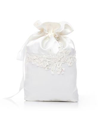Bridal Purse Wedding Satin Tether closure Elegant Clutches & Evening Bags