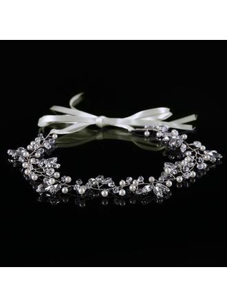 Ladies Pretty Crystal/Imitation Pearls Combs & Barrettes