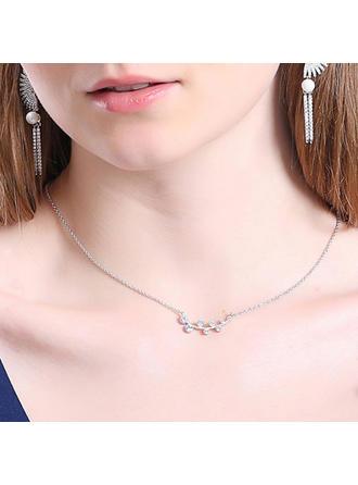 Classic Alloy/Rhinestones Ladies' Necklaces