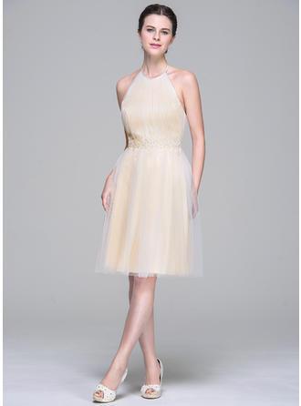 puff sleeve prom dresses