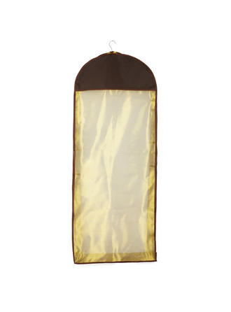 Garment Bags Gown Length Side Zip Tulle/Nonwoven Fabric Vintage/Breathable Wedding Garment Bag