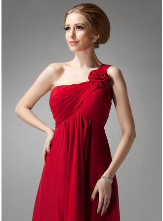 Fashion С завышенной талией Обычные шифон Платья подружки невесты (007013957)