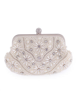 "Clutches Wedding/Ceremony & Party Satin Gorgeous 7.87""(Approx.20cm) Clutches & Evening Bags"